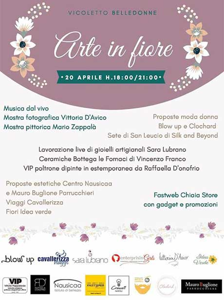 "EnterprisinGirls partner di ""Arte in Fiore"""