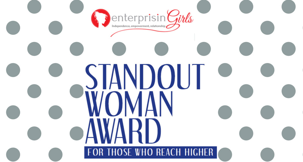 Enterprisingirls a Standout Woman Award 2016